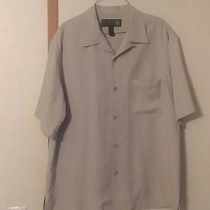 Mens 100% silk Nat Mast shirt